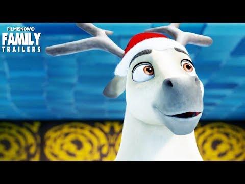 ELLIOT THE LITTLEST REINDEER (2018) Trailer - Animated family Christmas Movie