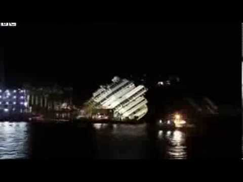 Подъем Costa Concordia за одну минуту - Центр транспортных стратегий