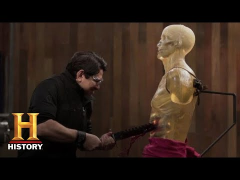 Forged in Fire: *Crazy Sharp* Sword Breaker SNAPS & ENTRAPS (Season 4) | History