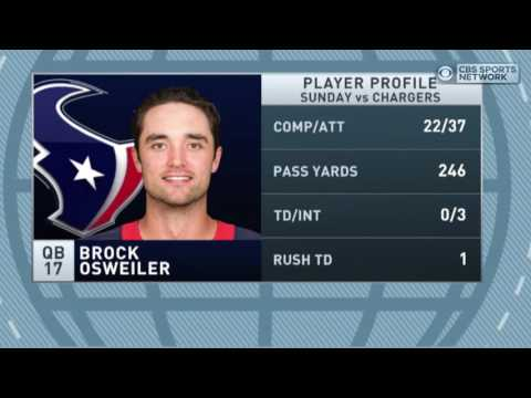 Video: Gottlieb: Bill O'Brien's decision to stick with Brock Osweiler