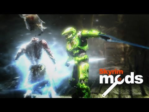 skyrim mod - Cam and Seb dip back into the wonderful world of Skyrim mods. This week we witness Master Chief go all Temple of Doom on the citizens of Tamriel. Halo Mods M...