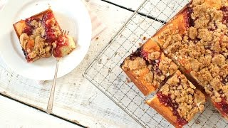 Jam Crumb Cake - Everyday Food with Sarah Carey by Everyday Food