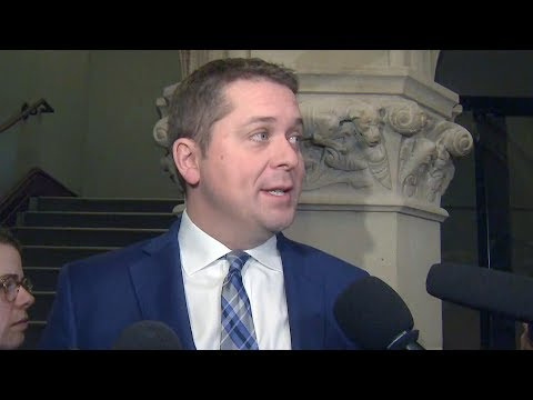 Scheer told Trudeau 39what we expected39 to support Liberal throne speech