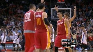 Rockets / Jeremy Lin ( 29 PTS, 8 ast, 6 reb ) vs Thunder (2-20-2013)