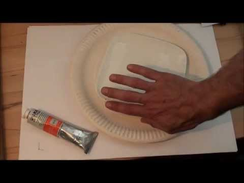 Tipps für Anfänger der Acrylmalerei (4): Die Palette