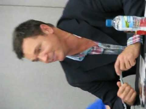 Nicholas LEA - Film and Comic Con - London 2012