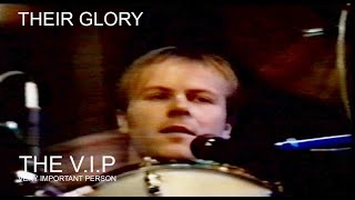 Video THEIR GLORY (C) 1979 THE V.I.P. - PRAGUE LIVE 28.2.1990
