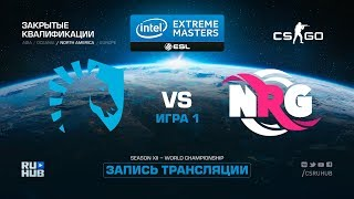 Team Liquid vs NRG esports - IEM Katowice Qual NA - map1 - de_overpass [yXo, Enkanis]