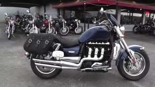 6. 349868 - 2008 Triumph Rocket III Classic Tour - Used Motorcycle For Sale