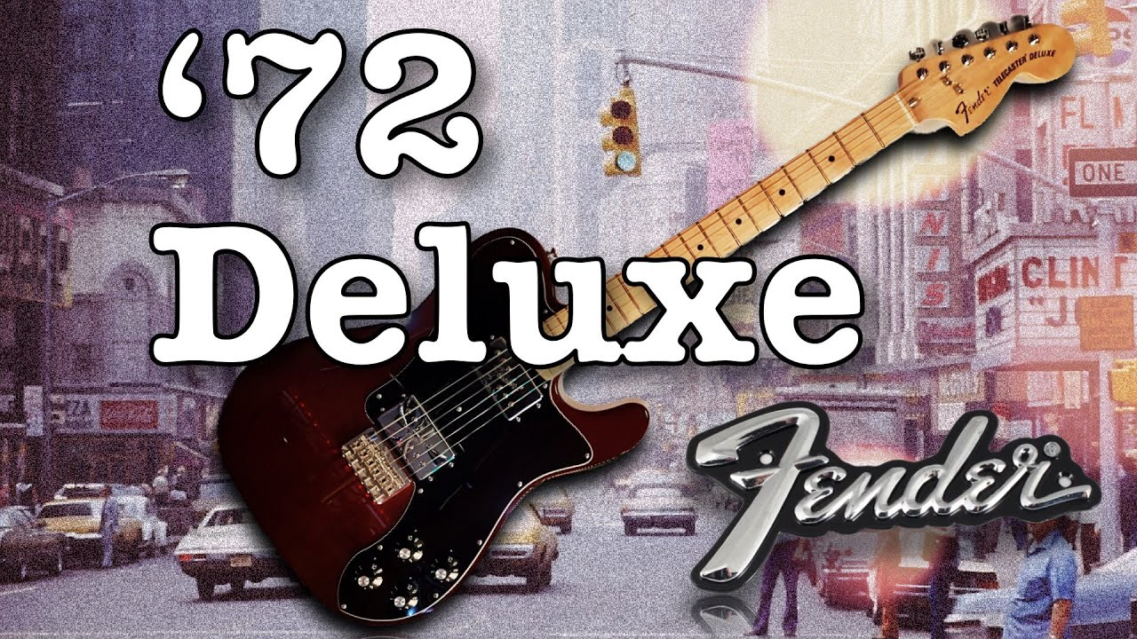 Fender CLASSIC SERIES '72 TELECASTER DELUXE – Electric Guitar Demo