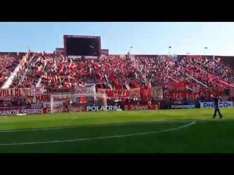 La hinchada de Los Andes frente a Estudiantes de La Plata - La Banda Descontrolada - Los Andes