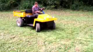 7. cub cadet grizzly utility vehicle