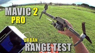 Video DJI Mavic 2 PRO Range Test - How Far Will It Go? (Light Urban) MP3, 3GP, MP4, WEBM, AVI, FLV November 2018