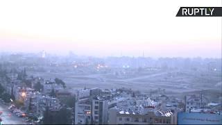 Así se ve Damasco tras el ataque conjunto de Estados Unidos, Francia y Reino Unido