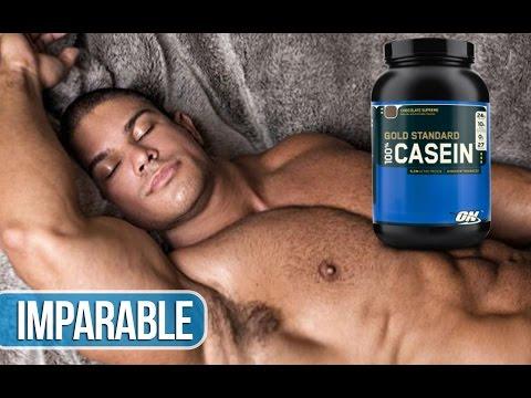 Suplementación   ¿Es necesario tomar caseína antes de dormir?
