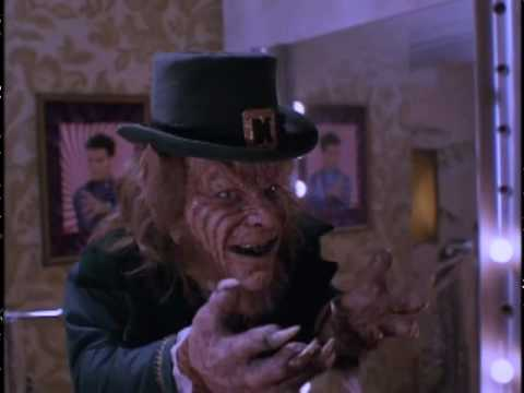 leprechaun - this is a scene from the movie