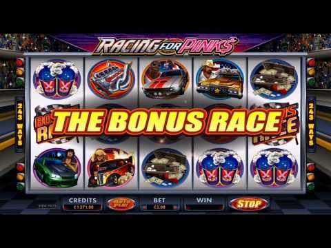 Racing for Pinks Slots @ Casino UK