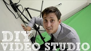 Video DIY Video Studio - How to Set Up Your Home Film Studio MP3, 3GP, MP4, WEBM, AVI, FLV September 2018