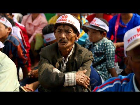 Myanmar: Massenproteste wegen Staudamm in Burma