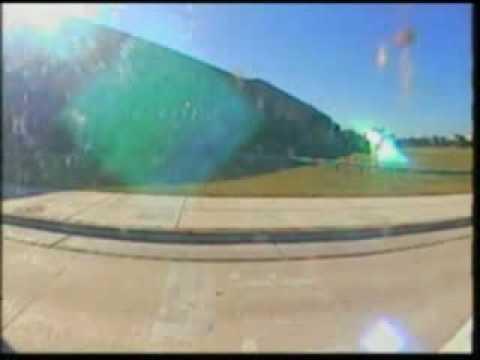 падение самолета на Пентагон (видео)