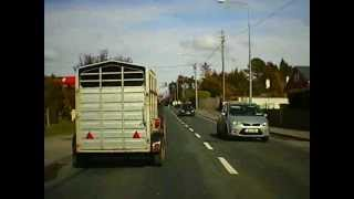 Car drive from Oranmore Co. Galway to Tuam Co. Galway, Republic of Ireland....http://www.vidireland.com