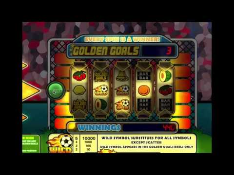 GOLDEN GOALS - SlotsCocktail - slots without registration