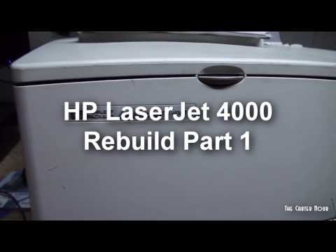 HP LaserJet 4000 Intro and Rebuild Part 1