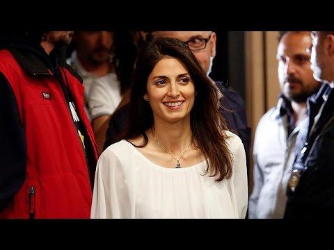 Η νέα δήμαρχος Ρώμης, Βιρτζίνια Ράτζι, αποκλειστικά στο euronews