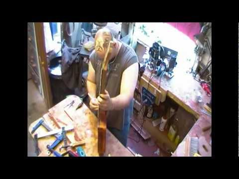 An entire custom guitar build in timelapse - part 2