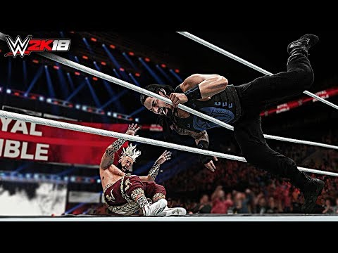 WWE 2K18 Top 10 Fastest Royal Rumble Eliminations!