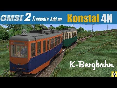 OMSI 2 [60 FPS] - KONSTAL 4N im Test als K-Bergbahn - Let's Play Omsi 2 [#392]: