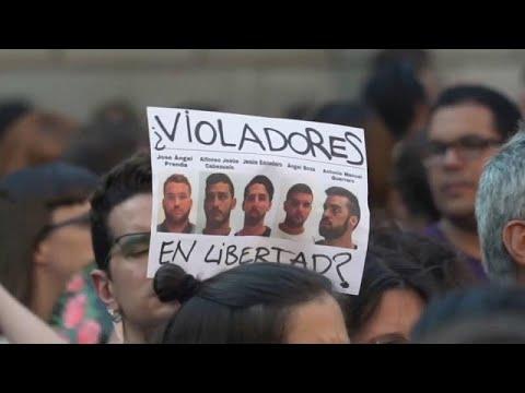 Spanien: Haftstrafen für Gruppenvergewaltiger auf 15  ...