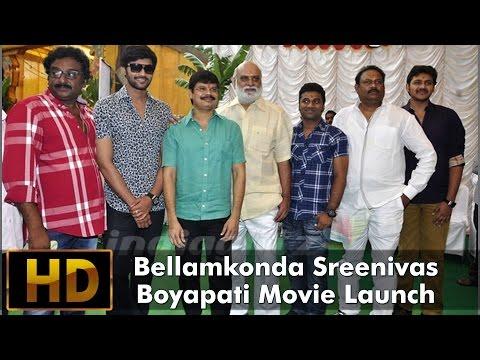 Boyapati Sreenu - Bellamkonda Sreenivas  Movie Launch