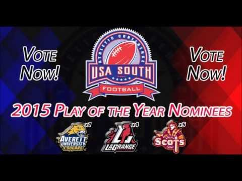 2015 USA South Football Play of the Year Nominees