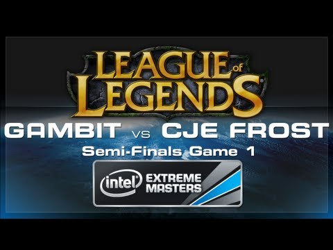 Lol - Gambit Gaming vs CJ Entus Frost in the LoL Semi-Finals. Day four of the IEM World Championship 2013 at CeBIT! Check out all the LoL Action from IEM World Cha...