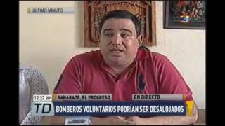 Los cuerpos de Bomberos Voluntarios de Sanarate, El Progreso, podrían ser desalojados tras un proceso judicial y el Concejal I de Sanarate explica la razón. ...