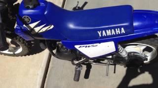1. 2005 Yamaha PW50 Startup