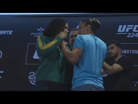 UFC 224: Media Day Faceoffs