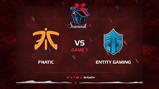 Fnatic против Entity Gaming, Первая карта, Квалификация на Dota Summit 8