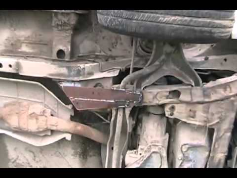 #1075 Fix broken frame on pontiac transport van [Davidsfarm]