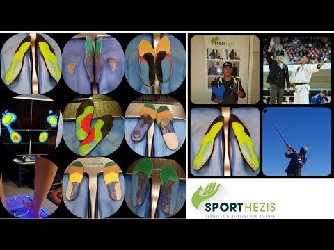 Sporthezis semelles orthopédiques montpellier, semelles pour sportifs insoles for running shoes