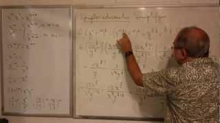 Algebra Intermedia - Lección 5 - A (leyes De Exponentes Fraccinaros)