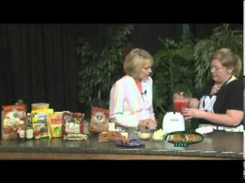Rachel Doumbia on Paula Sands Live  5/23/2011 Diabetic Cooking class Hauberg