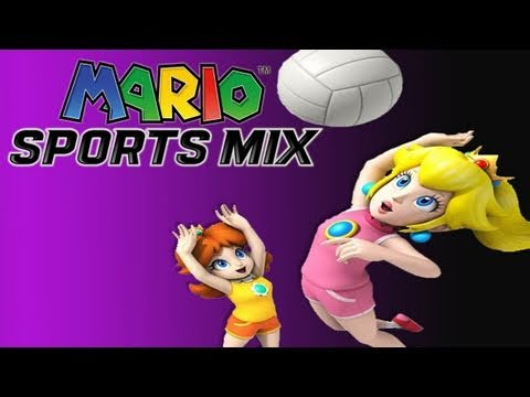 preview-Mario Sports Mix: Volleyball Gameplay Co Op (HD) (Kwings)