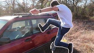 Video Can You Break a Car Window By Kicking It? MP3, 3GP, MP4, WEBM, AVI, FLV Februari 2018