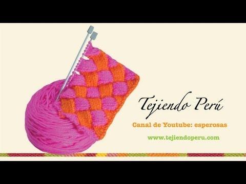 Entrelac Scarf by FrecklesnPurls | Knitting Pattern
