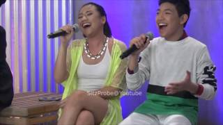 Morissette Amon and Darren Espanto Blends Chandelier Together Video