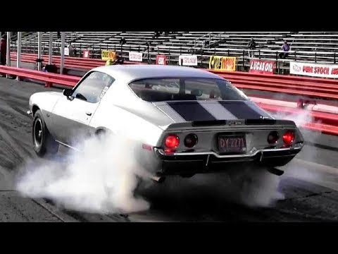 1965 corvette (l79) vs 1970 camaro z28 (lt1) drag race