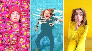 Video HIDE AND SEEK AT THE SWIM CENTER Challenge w/ The Norris Nuts MP3, 3GP, MP4, WEBM, AVI, FLV Agustus 2019