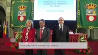 Firma del Contrato-Programa con la Universidad de Cantabria